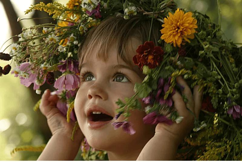 Самый красивый и уязвимый орган ваших детей – зеркала души, глаза!