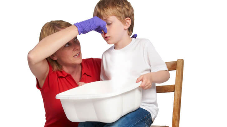 Кровь из носа при аденоидах