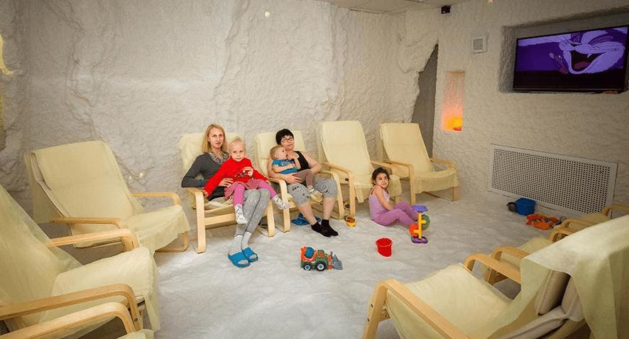 Соляная пещера при аденоидах