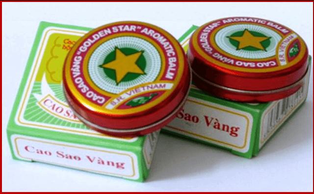 Мазь вьетнамская звездочка