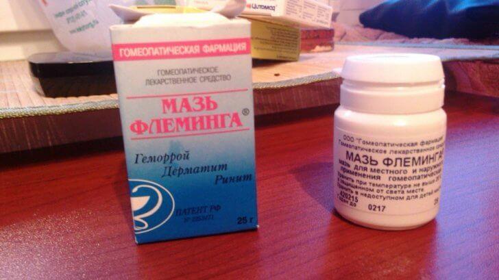 Назальное средство для носового аденоидита у детей Мазь Флеминга