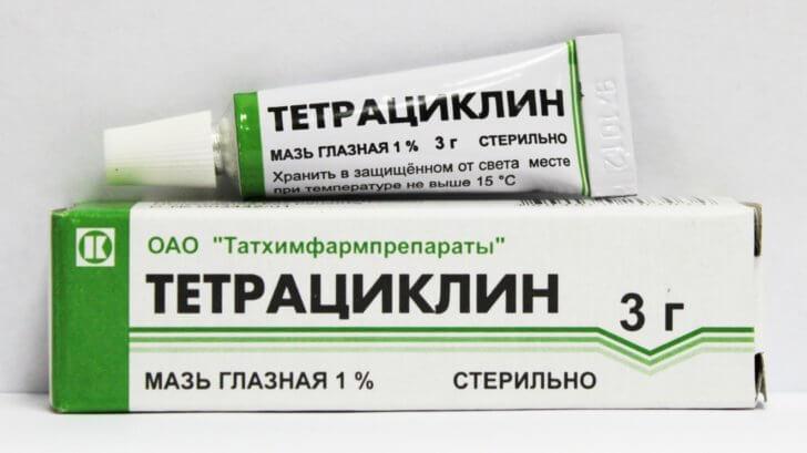 «Тетрациклиновая мазь» для носового аденоидита у детей: самая полезная информация