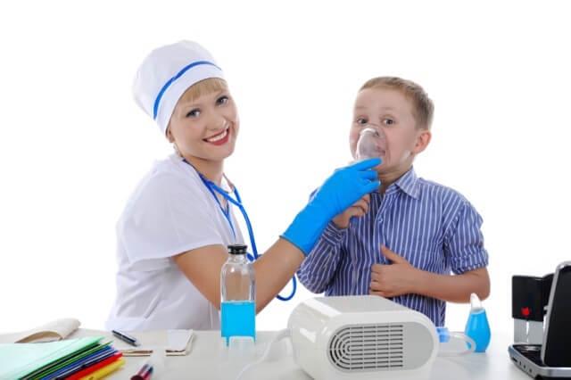 небулайзер при аденоидах