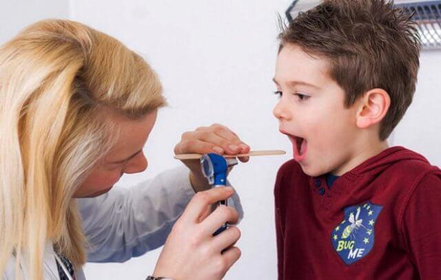 где находятся миндалины и аденоиды у ребёнка