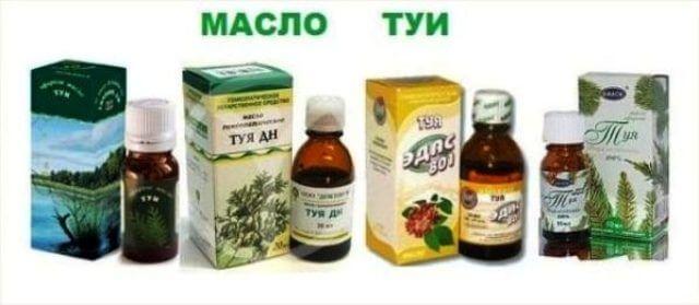 Масло туи для лечения аденоидов у детей