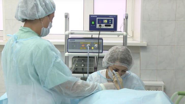 Операция по удалению аденоидов у детей