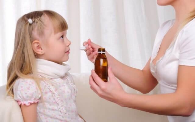 Сухой кашель при аденоидах у детей